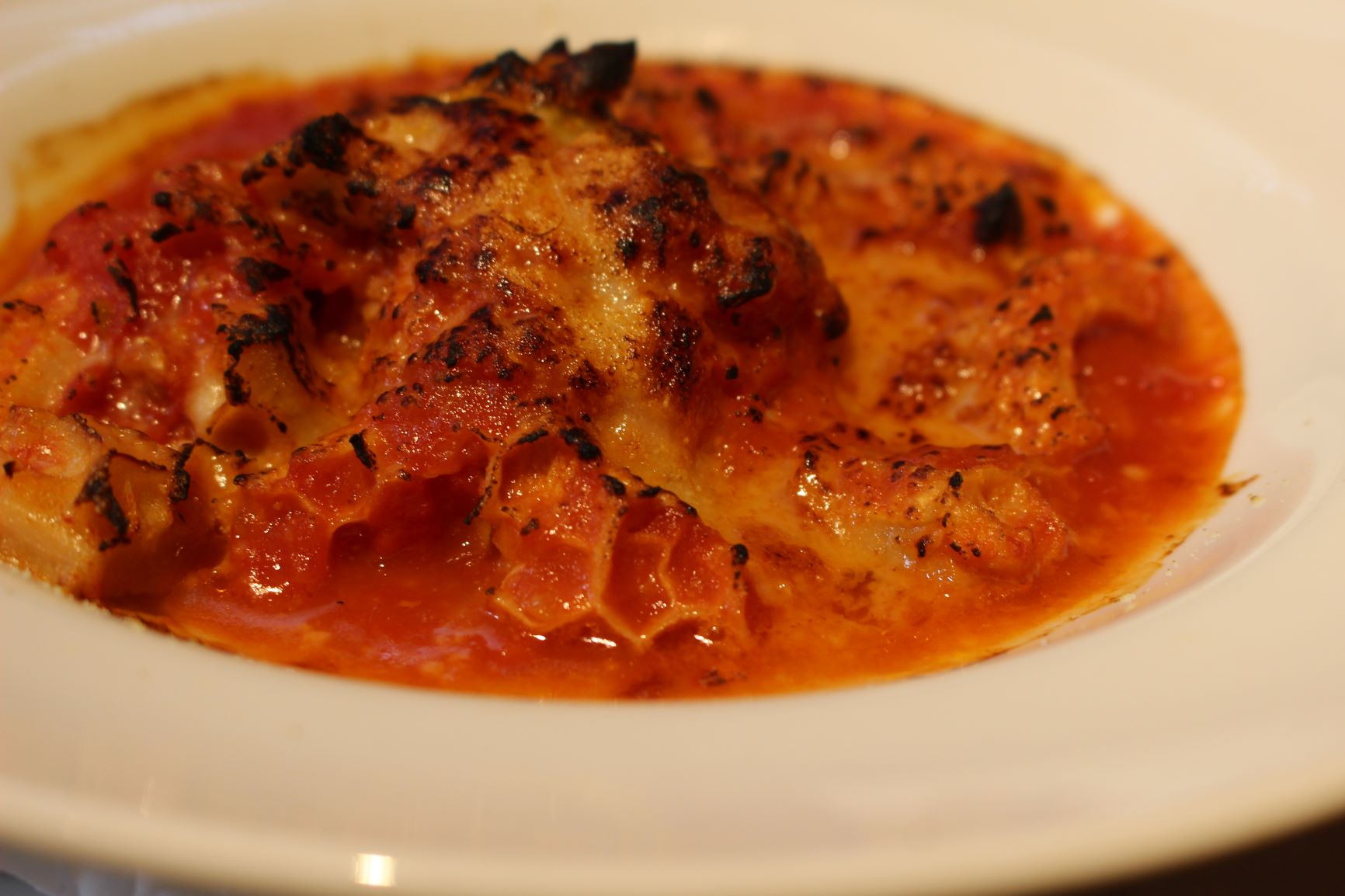 ローマ風トリッパのトマト煮込みもカルボナーラに次ぐ名物